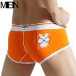 MenBoat MB050 Boxer Shorts - ORANGE