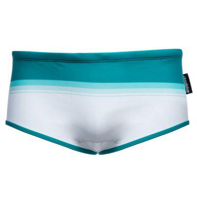 AUSTINBEM Male Rainbow Color Swimming Briefs