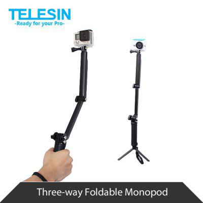 TELESIN Foldable Monopod for Polaroid Cube / Cube+