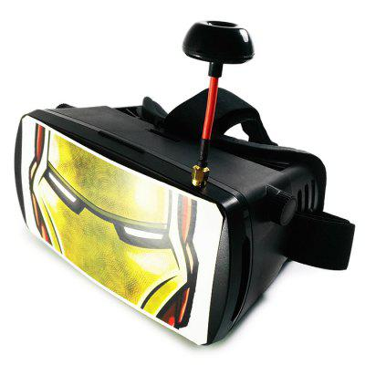 Hero Pattern 5 inch 5.8GHz 32CH FPV 800 x 400 Video Goggles