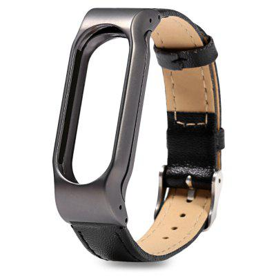 D.MRX Metal Case Steel Watch Strap for Xiaomi Miband 2Smart Watch Accessories<br>D.MRX Metal Case Steel Watch Strap for Xiaomi Miband 2<br><br>Band Length: 9.96 inch<br>Band Material Type: Leather<br>Band Width: 18mm<br>Clasp type: Pin Buckle<br>Package Contents: 1 x D.MRX Watch Strap for Xiaomi Miband 2<br>Package Size(L x W x H): 26.30 x 2.80 x 2.30 cm / 10.35 x 1.1 x 0.91 inches<br>Package weight: 0.104 kg<br>Product Size(L x W x H): 25.30 x 1.80 x 1.30 cm / 9.96 x 0.71 x 0.51 inches<br>Product weight: 0.037 kg