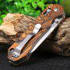 GANZO G7452 - WD1 Brown Folding Knife - COLORMIX