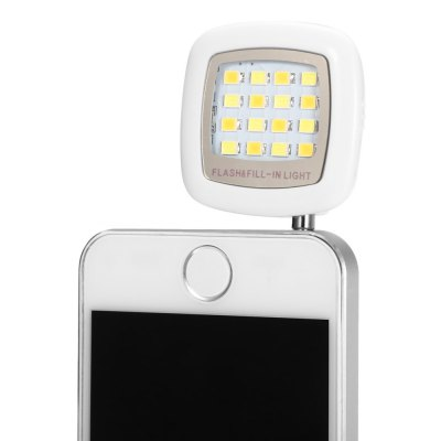 Mini Mobilephone 16 LEDs Fill-in Flashlight