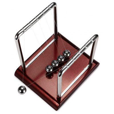 Gearbest 1cm Balance Ball Newton Cradle Physical Pendulum Educational Toy
