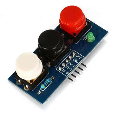 LDTR - Key3 3 - 6V Independent Key Touch Button Module
