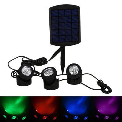 BSV - SL318CS Solar RGB LED Spotlight