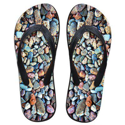 Männer Anti-Rutsch-Sole Flip-Flop Strand Sandale für Outdoor / Home