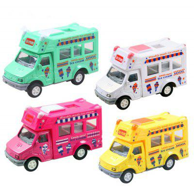 Ice Cream Cartoon Pullback Car - 1pc