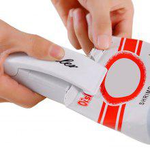 Mini Handy Heat Instant Sealer Manual Closer for Kitchen Food Storage Plastic Bags (White)