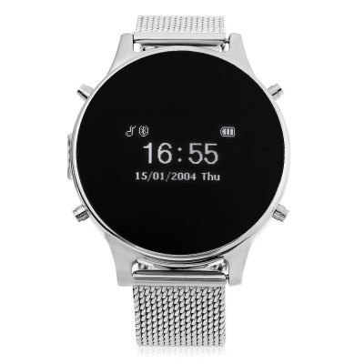 MT360 Smart Bluetooth Watch Multifunction SmartwatchSmart Watches<br>MT360 Smart Bluetooth Watch Multifunction Smartwatch<br><br>Alert type: Vibration, Ring<br>Anti-lost: Yes<br>Available Color: Black,Gold,Red,Silver<br>Band material: Leather<br>Battery Capacity: 230mAh<br>Bluetooth calling: Answering,Call log sync,Caller ID dispay,Callers name display,Dialing,Phone call reminder,Phonebook<br>Case material: Stainless Steel<br>Compatability: Android 4.3 and above system<br>Compatible OS: Android<br>Dial size: 4.0 x 4.0 x 1.0 cm / 1.57 x 1.57 x 0.39 inches<br>Health tracker: Pedometer<br>Language: English<br>Messaging: Message checking,Message reminder<br>Notification: Yes<br>Other Functions: Alarm<br>Package Contents: 1 x MT360 Smart Watch, 1 x USB Charging Cable, 1 x English and Chinese Manual<br>Package size (L x W x H): 11.00 x 11.00 x 7.00 cm / 4.33 x 4.33 x 2.76 inches<br>Package weight: 0.3690 kg<br>People: Unisex watch<br>Product size (L x W x H): 24.00 x 4.00 x 1.00 cm / 9.45 x 1.57 x 0.39 inches<br>Remote Control: Camera remote,Music remote<br>Shape of the dial: Round<br>Standby time: 70 - 90 hours