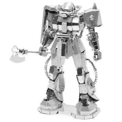 ZOYO 3D Metallic Machine Figure Puzzle Toy