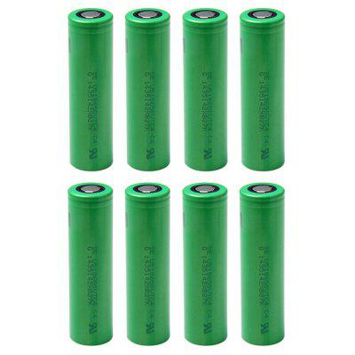 8 x US18650VTC4 18650 2100mAh 30A 3.7V Li-ion Battery