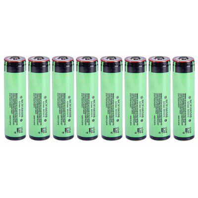 8x Panasonic NCR18650B 3400mAh 18650 Protected Battery