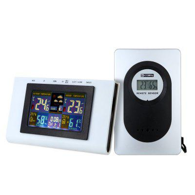 TS - H127G Digital Alarm Clock Weather Station
