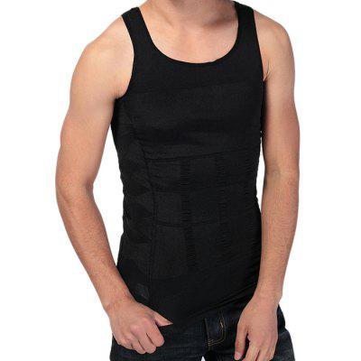 Men Flatten Abdomen Corset Breathable Body ShapewearWaistcoats<br>Men Flatten Abdomen Corset Breathable Body Shapewear<br><br>Material: Nylon, Spandex<br>Package Contents: 1 x Men Corset<br>Package size: 25.00 x 15.00 x 2.00 cm / 9.84 x 5.91 x 0.79 inches<br>Package weight: 0.2310 kg<br>Product weight: 0.1500 kg