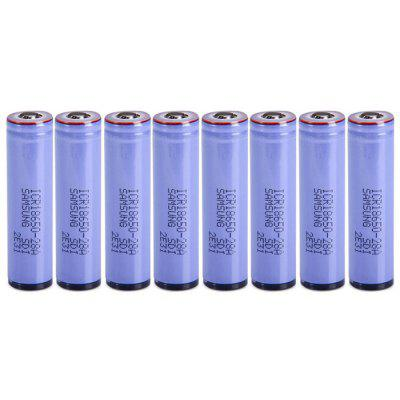 8 x ICR18650 - 28A Li-ion Battery