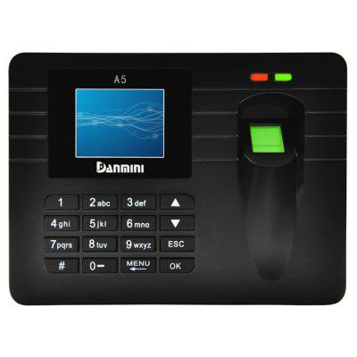 DANMINI A5 2.4 inch TFT Screen Biometric Fingerprint Machine