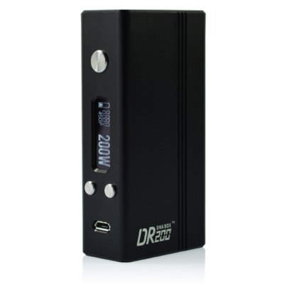 Original Hotcig DR200 TC Mod with Evolv DNA200 Chip