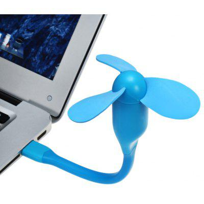 Mini Ventilador Flexible Portable USB