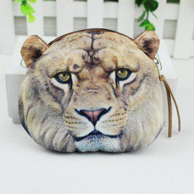 Cute Animal Printed Wallet Polyester Coin Purse