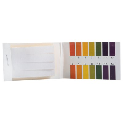 Full Range 1 - 14 pH Test Paper Strips Litmus Testing Kit