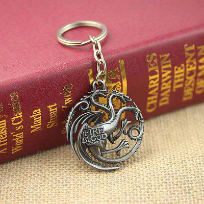 Keyring Family Badge Model Pendant Decoration