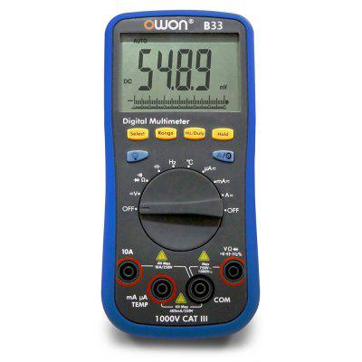 OWON B33 Bluetooth 4.0 AC / DC Voltage Digital Universal Meter