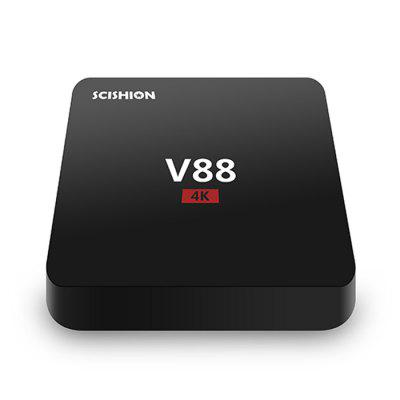 Фото SCISHION V88 TV Box Rockchip 3229 Quad Core. Купить в РФ