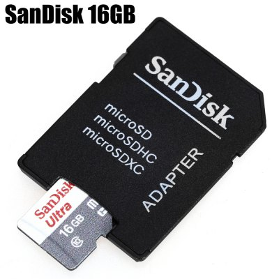 Original SanDisk 16GB Class 10 Micro SDHC Memory Card