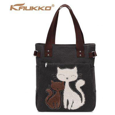 Buy BLACK KAUKKO GW093 10L Handbag for $12.93 in GearBest store