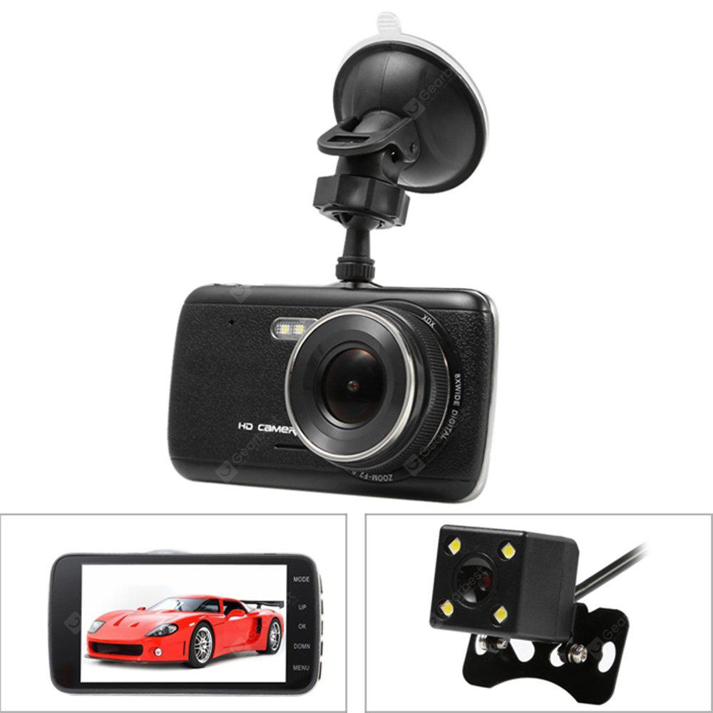 junsun H6 Dual Lens Super HD 170 Degree Car DVR Recorder