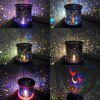 Star LED Night Light Projector Lamp Toy - 1pc - COLORMIX