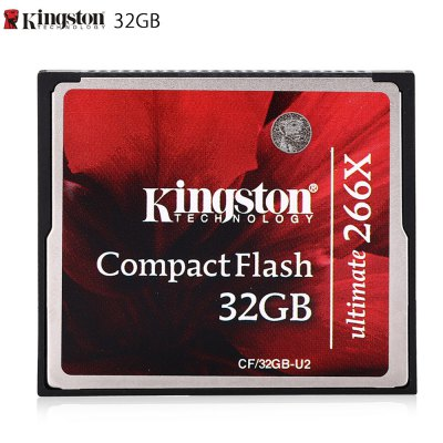 Original Kingston CF / 32GB - U2 32GB CompactFlash Card
