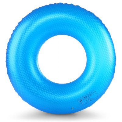 Adult PVC Solid Color Waving Pattern Swimming Ring