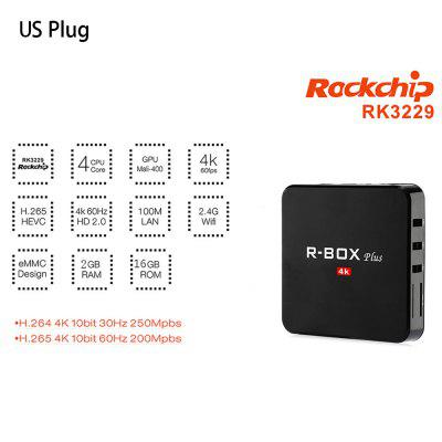 R - Box Android Plus Net Box TV Rockchip 3229 Quad Core