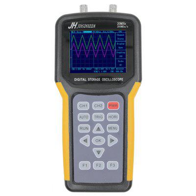 JINHAN JDS2022A 20MHz Handheld Double Channel Digital Oscilloscope