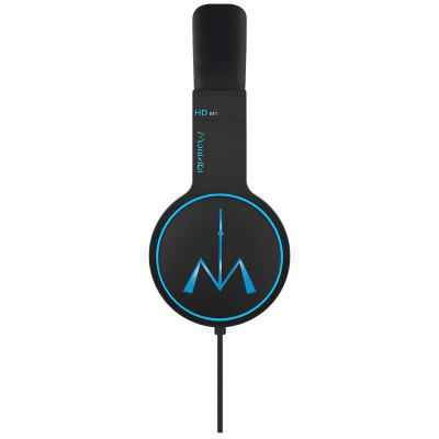 Monixibi HDM1 Music Wired HeadphonesOn-ear &amp; Over-ear Headphones<br>Monixibi HDM1 Music Wired Headphones<br><br>Application: Portable Media Player, Mobile phone, For iPod, Computer<br>Brand: Monixibi<br>Cable Length (m): 1.2m<br>Color: Blue,Green,Purple<br>Compatible with: Computer<br>Connectivity: Wired<br>Driver unit: 40mm<br>Frequency response: 20-20000Hz<br>Function: Microphone, Noise Cancelling, Answering Phone, HiFi, Song Switching<br>Impedance: 32ohms<br>Model: HDM1<br>Package Contents: 1 x Headphones, 1 x Storage Band, 1 x Buckle, 1 x Hook and Loop<br>Package size (L x W x H): 19.00 x 12.00 x 24.00 cm / 7.48 x 4.72 x 9.45 inches<br>Package weight: 0.992 kg<br>Plug Type: 3.5mm<br>Product size (L x W x H): 16.40 x 8.30 x 20.80 cm / 6.46 x 3.27 x 8.19 inches<br>Product weight: 0.260 kg<br>Sensitivity: 113 dB ± 3dB<br>Wearing type: Headband