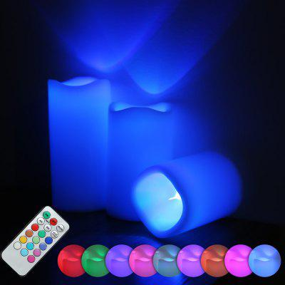 3pcs / Set LED Candle Light