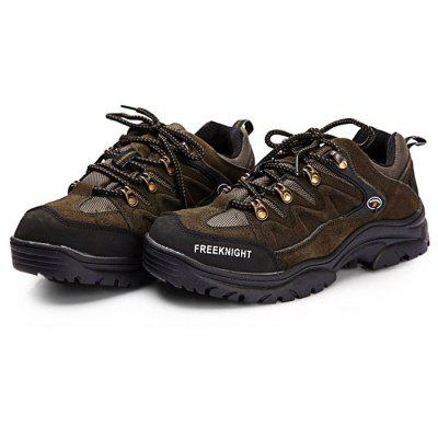 Male Breathable Mountaineering Shoes with Anti-slip Sole