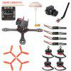 GB190 190mm Wheelbase DIY Frame Kit Racing Drone - COLORMIX