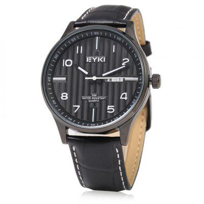 EYKI 1028 Casual Dual Calendar Men Quartz Watch