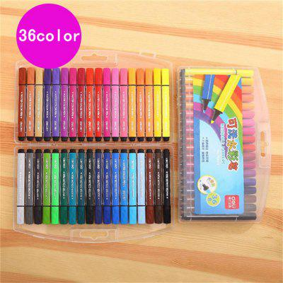 Deli 36PCS Washable Marker