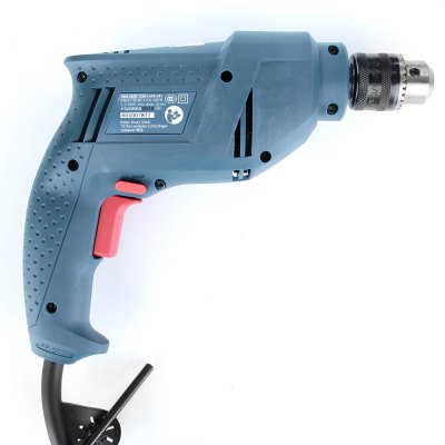BOSCH TBM3400 340W Adjustable Speed Electric ScrewdriverPower Drill<br>BOSCH TBM3400 340W Adjustable Speed Electric Screwdriver<br><br>Brand: BOSCH<br>Model: TBM3400<br>Package Contents: 1 x Electric Screwdriver (2.22m Cable), 1 x Chuck Key, 1 x  Chinese Manual<br>Package size (L x W x H): 27.00 x 25.00 x 7.00 cm / 10.63 x 9.84 x 2.76 inches<br>Package weight: 1.520 kg<br>Product size (L x W x H): 24.00 x 20.00 x 5.50 cm / 9.45 x 7.87 x 2.17 inches<br>Product weight: 1.318 kg<br>Screw Head Type: All-in-One<br>Special function: Drill<br>Steel Material: Tool Steel