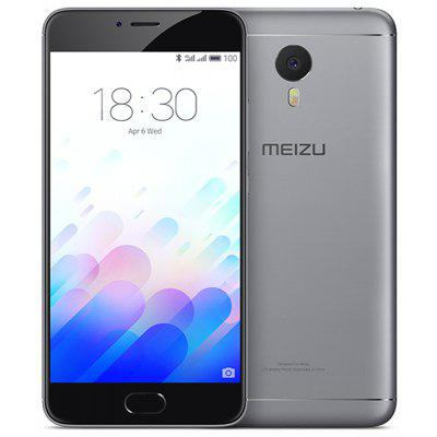 Buy BLACK MEIZU M3 Note 16GB 4G Phablet for $163.89 in GearBest store