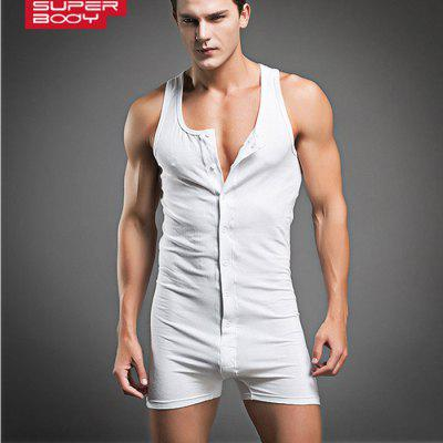SUPERBODY Men Jumpsuit Tank Top