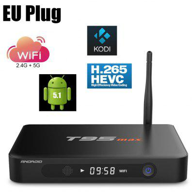 Sunvell T95 Max TV Android Box Quad Core Amlogic S905