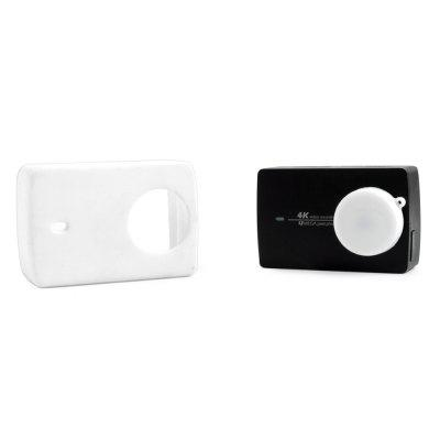 SMACO Silica Gel Frame Housing Lens Cover for Xiaomi Yi II