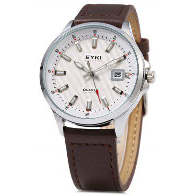 EYKI 1050 Casual Nail Scale Hollow Pointer Men Quartz Watch