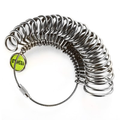 Yeshold US Size 1 - 13 Stainless Steel Ring Sizers