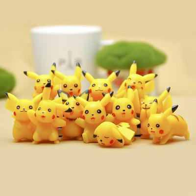 12pcs / set Characteristic Figure Model Toy